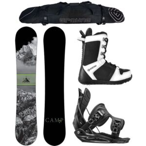 Special Camp Seven Valdez, APX and Flow Men's Complete Snowboard Package