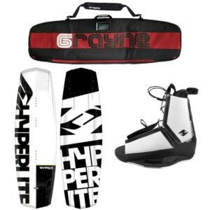 Hyperlite Agent 2020 Wakeboard Package With Destroyer Bindings