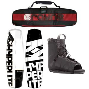 Hyperlite Agent 2020 Wakeboard Package With Frequency Bindings