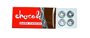 Chocolate Dark Chocolate Single Set Skateboard Bearings