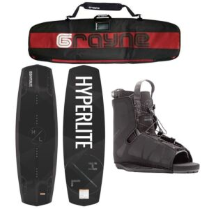 Hyperlite Destroyer 2020 Wakeboard Package With Frequency Bindings