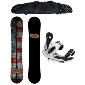 Special Camp Seven Drifter and Summit Binding Snowboard Package