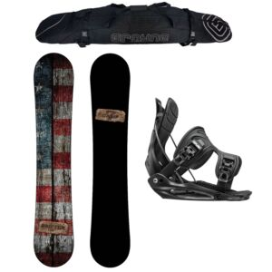 Special Camp Seven Drifter and Flow Alpha MTN Men's Snowboard Package