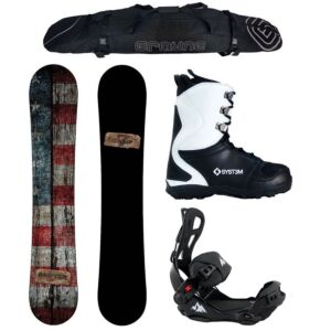 Special Snowboard Package Drifter and System LTX Rear Entry Bindings Complete