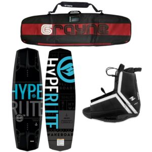 Hyperlite Machete 2020 Wakeboard Package With Agent Bindings