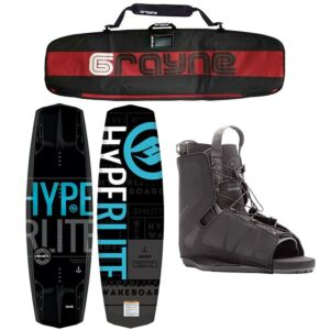 Hyperlite Machete 2020 Wakeboard Package With Frequency Bindings