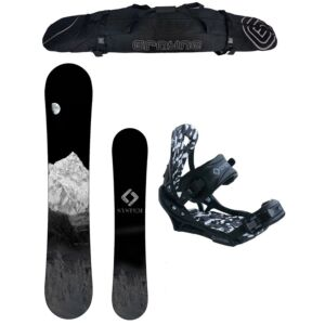 Special System MTN and APX Men's Snowboard Package