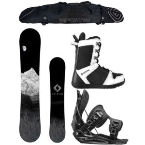 Special System MTN and Flow Complete Men's Snowboard Package