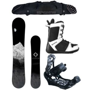 Special Special System MTN and APX Complete Men's Snowboard Package