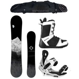 Special System MTN and Summit Complete Men's Snowboard Package