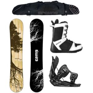 Special Camp Seven Roots CRCX 2020 and Flow Men's Complete Snowboard Package