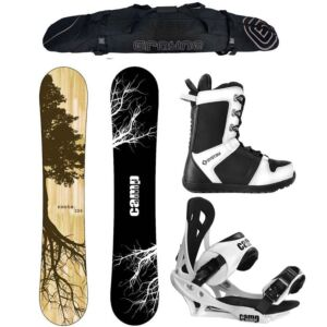 Special Camp Seven Roots CRCX and APX 2020 Complete Snowboard Package