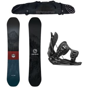 Special Camp Seven Redwood and Flow Men's Snowboard Package