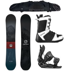 Special Camp Seven Redwood and Flow Complete Snowboard Package