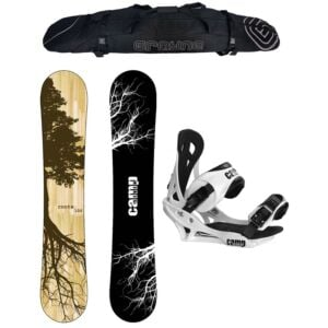 Special Camp Seven Roots CRCX 2020 and Summit Men's Snowboard Package