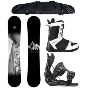 Special System Timeless and Flow Men's Complete Snowboard Package