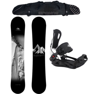 Special Snowboard Package System Timeless and MTN Rear Entry Bindings