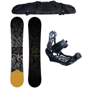 Special System Tour and APX Men's Snowboard Package
