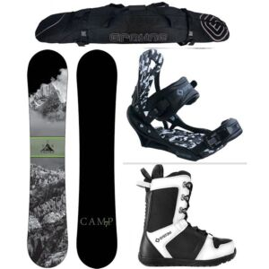 Special Camp Seven Valdez and APX Complete Men's Snowboard Package
