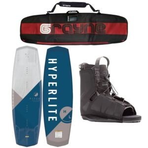 Hyperlite Vapor 2020 Wakeboard Package With Frequency Bindings