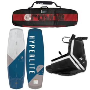 Hyperlite Vapor 2021 Wakeboard Package With Agent Bindings
