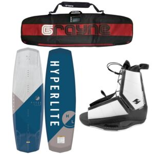 Hyperlite Vapor 2020 Wakeboard Package With Destroyer Bindings