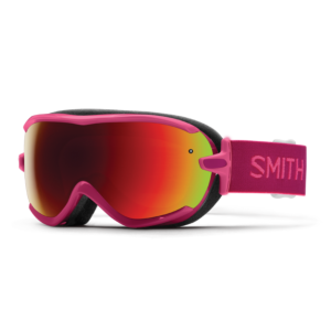 Smith Women's Virtue Fuchsia Static Goggle w/Red Sensor Lens