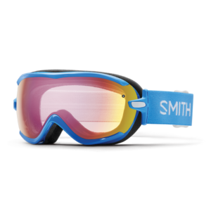 Smith Women's French Blue Static Goggle w/Red Sensor Lens