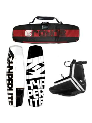 Hyperlite Agent 2021 Wakeboard Package With Agent Bindings