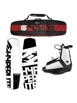 Hyperlite Agent 2021 Wakeboard Package With Destroyer Bindings