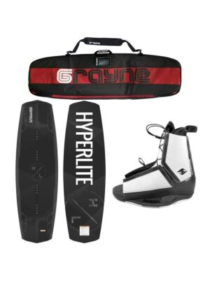Hyperlite Destroyer 2020 Wakeboard Package With Destroyer Bindings