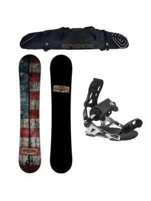 Special Snowboard Package Camp Seven Drifter and System Pro Rear Entry Bindings
