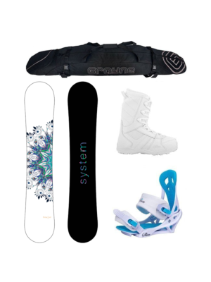 Special Flite and Lux Women's Complete Snowboard Package