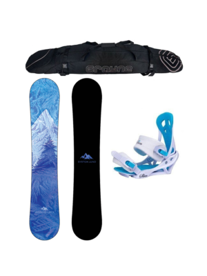 Special System Juno and Mystic Women's Snowboard Package