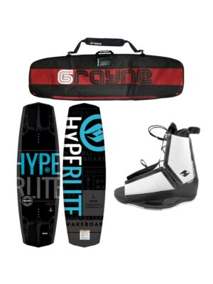 Hyperlite Machete 2021 Wakeboard Package With Destroyer Bindings