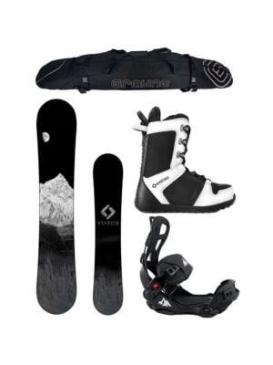 Special Snowboard Package System MTN with LTX Rear Entry Bindings Complete