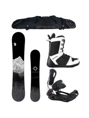 Special Snowboard Package System MTN and MTN Rear Entry Bindings Complete