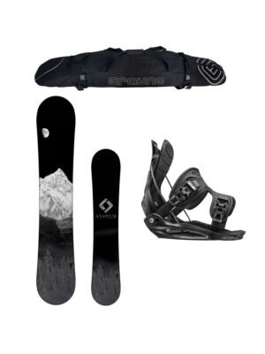 Special System MTN and Flow Alpha MTN Men's Snowboard Package