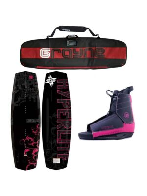 Hyperlite Women's Wakeboard Mystique 2021 Complete Package Special