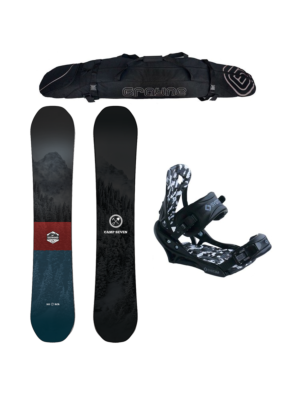 Special Camp Seven Redwood RCRX and APX Men's Snowboard Package