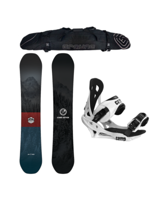 Special Camp Seven Redwood and Summit Men's Snowboard Package