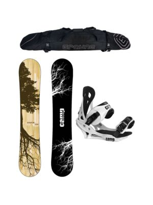 Special Camp Seven Roots CRCX 2021 and Summit Men's Snowboard Package