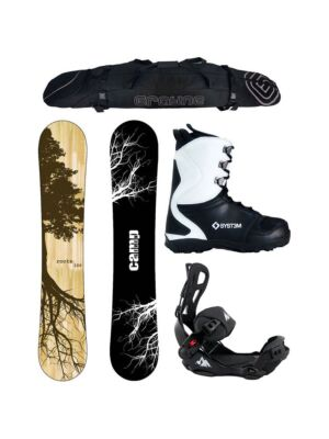 Special Snowboard Package Roots and System LTX Rear Entry Bindings Complete
