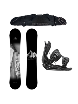 Special System Timeless and Flow Men's Snowboard Package