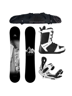 Special System Timeless and Summit Complete Snowboard Package