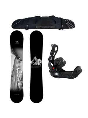 Special Snowboard Package System Timeless and LTX Rear Entry Bindings