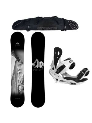 Special System Timeless And Summit Men's Snowboard Package