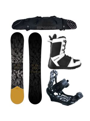 Special System Tour and APX Complete Snowboard Package
