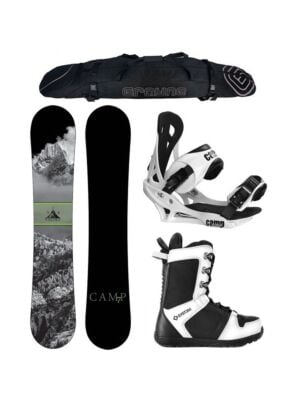Special Camp Seven Valdez and Summit Complete Snowboard Package