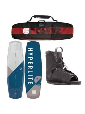 Hyperlite Vapor 2021 Wakeboard Package With Frequency Bindings
